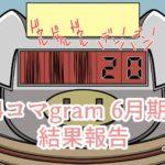 【月次収益報告】4コマgram投稿6月期終了!4コマ漫画初月の収益はいくら?